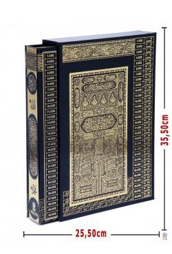 KUTULU| Efdal Bilgisayar Hatlı Kuran-ı Kerim (CAMİ Boy | SİYAH)