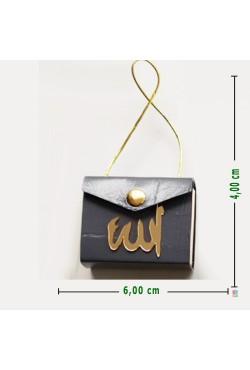 El Yapımı HAKİKİ DERİ Kuran-ı Kerim (Minik Boy | 4 X6 cm)
