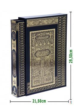 KUTULU,Yaldızlı | Efdal Bilgisayar Hatlı Kuran-ı Kerim (RAHLE Boy | SİYAH)
