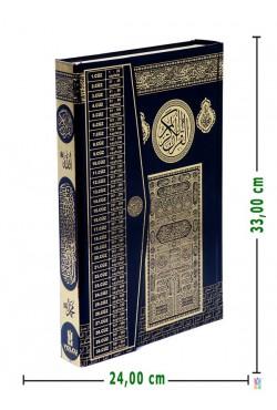 Efdal Bilgisayar Hatlı Kuran-ı Kerim (CAMİ Boy) | SİYAH)